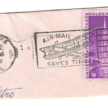1939 Canceled World's Fair Stamp