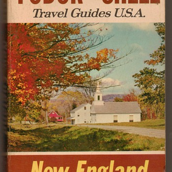 1967 - Fodor Shell New England Guide - Books