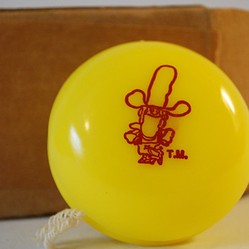 Vintage Duncan Yo-Yo Corn Pops Cowboy Old Cereal Premium