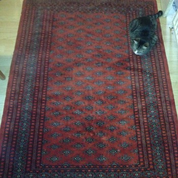 One more old hand made rug