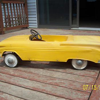 1959 IMPALA CONVERTIBLE PEDAL CAR - Model Cars
