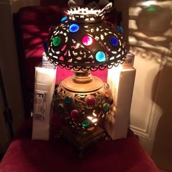 Jeweled Table Lamp