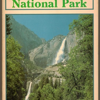 1989 - Yosemite National Park - Guidebook - Books