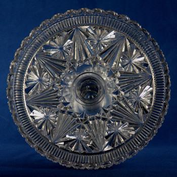 Belmont Glass Works #400 Globe and Star c1887 - Glassware