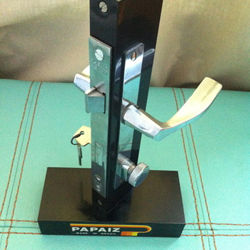 Papaiz door lock made in Brazil. - Tools and Hardware