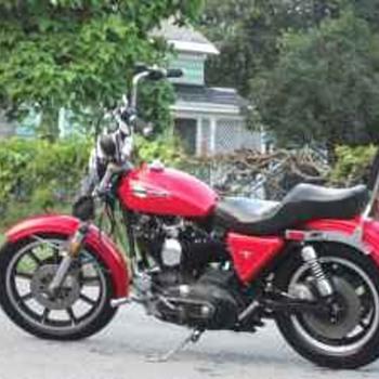 1979 Harley Davidson Ironhead.
