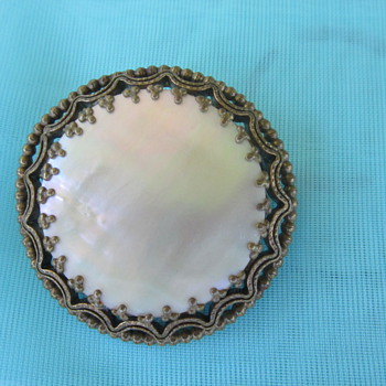 Mother of Pearl Brooch