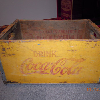 20&#039;s-30&#039;s Coca-Cola Crate - Coca-Cola