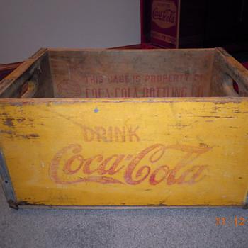 20's-30's Coca-Cola Crate