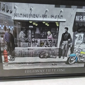HIGHWAY 51 POSTER - Posters and Prints