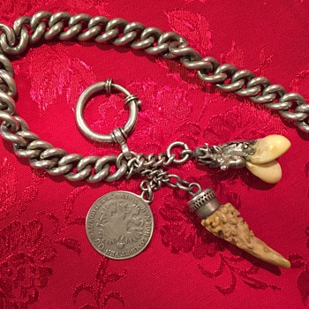 200? year old watch fobs and chain - Pocket Watches