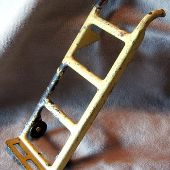 Pressed Steel Toy Hand Truck - Toys