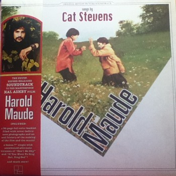 &quot;Harold and Maude: Original Motion Picture Soundtrack&quot; Record Album - Records