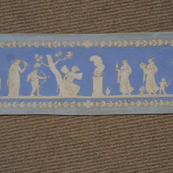Jasperware - Wedgwood Fireplace tile - Art Pottery