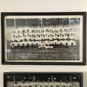 1949 World Champions New York Yankees Team Photo