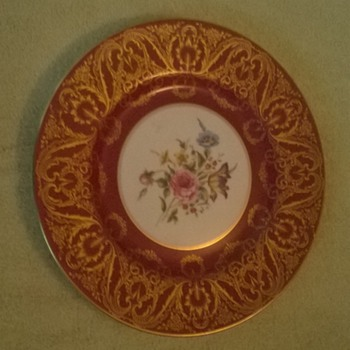 Royal Worcester Bone China Limited Edition Plate