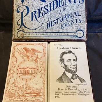 Copyright 1894: The Game of Presidents and Historical Events - Games