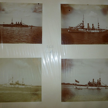 1898 White Squadron Photos - Military and Wartime