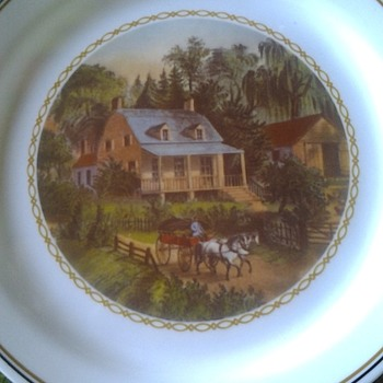 corelle plate unknown pattern - China and Dinnerware