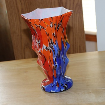 Striking Unmarked Vase