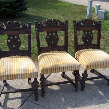 Do you know what kind of chairs these are? - Furniture