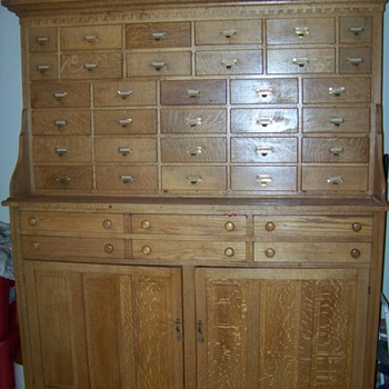 Antique Cabinet (Not Sure What it Really Is) - Furniture