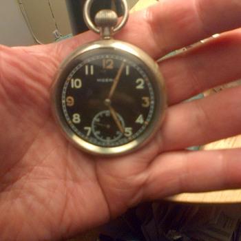 MOERIS Pocket Watch WW II GSTP  ? 136xxx - Pocket Watches