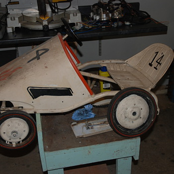 My childhood pedal car, what is it? - Model Cars