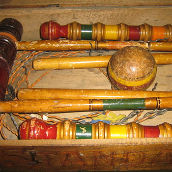 early croquet set