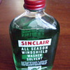 Full Sinclair Washer Fluid Bottle