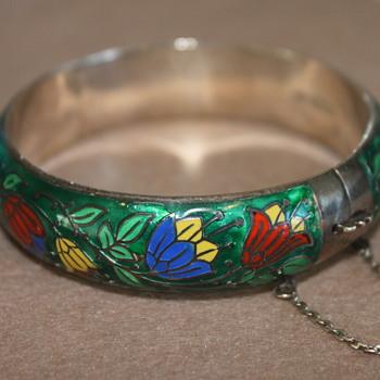 Sterling Enamel Bracelet - Fine Jewelry