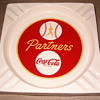 Coca Cola Baseball ashtray