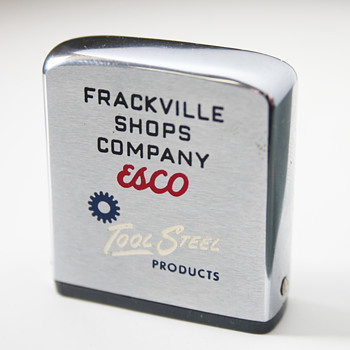 Vintage Measurement Tape by Zippo….Frackville Shops Company  - Advertising