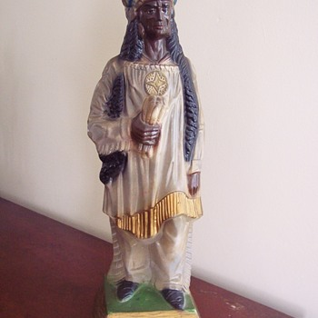 Chalkware Indian