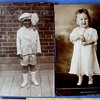 BEAUTIFUL KIDS, BLACK & WHITE, 1906 and c.1910  LOVE THESE!!