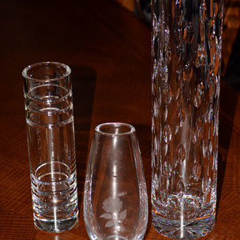 Art Glass/Crystal Vases
