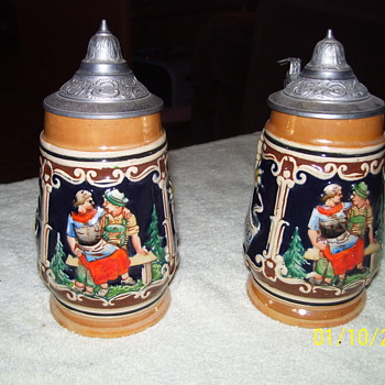 my german beer mugs - Breweriana