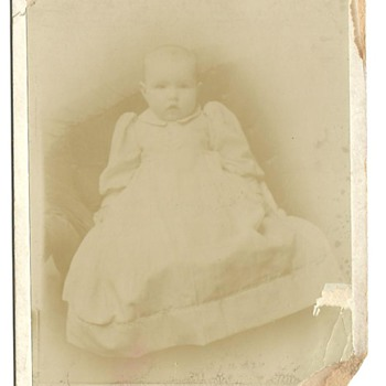 Cabinet Card of Goldie Cathleen (Call) Poulton