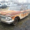 Old Edsel.  Add a 5.0 VZ8, disc brakes and a 5-speed...