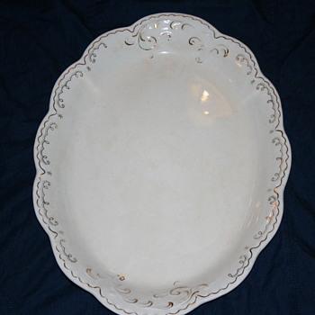Mystery age platter??