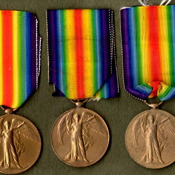 West Indies, Gurkha & South Africa Victory Medals