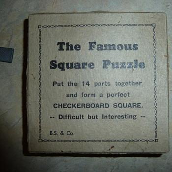 The Famous Square Puzzle
