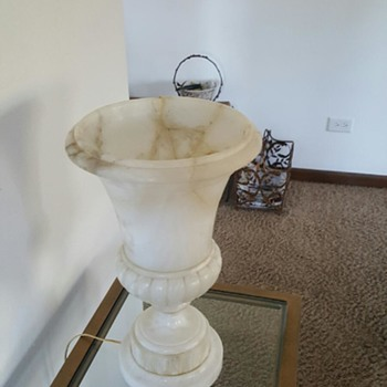 Alabaster Lamp Identification