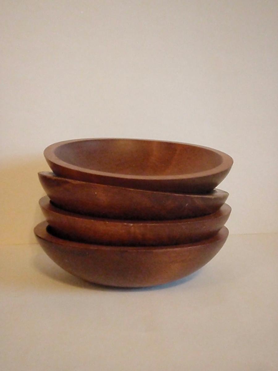 Baribocraft oblong wooden salad bowls collectors weekly
