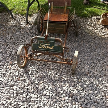Very Old Pedal Car