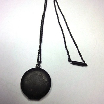 BERLIN IRON LOCKET NECKLACE