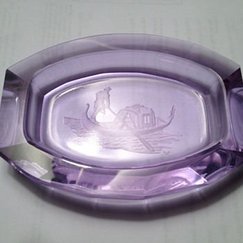more alexandrite - pin dish - Glassware