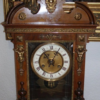 Antique mantel clock  id ? - Clocks