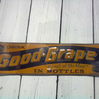 Good Grape Sign