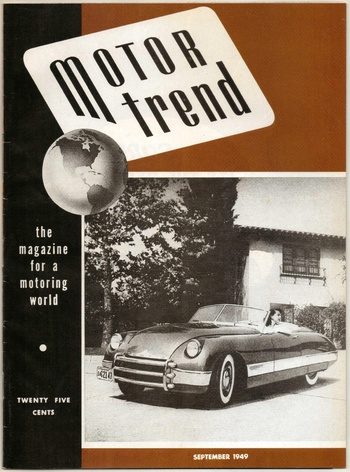 1949 motor trend magazine first issue 1999 reprint collectors weekly. Black Bedroom Furniture Sets. Home Design Ideas